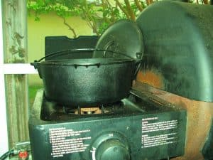 Emergency cooking