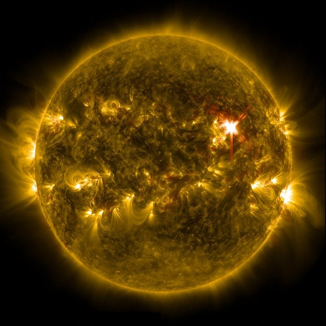 Solar flare outage situations